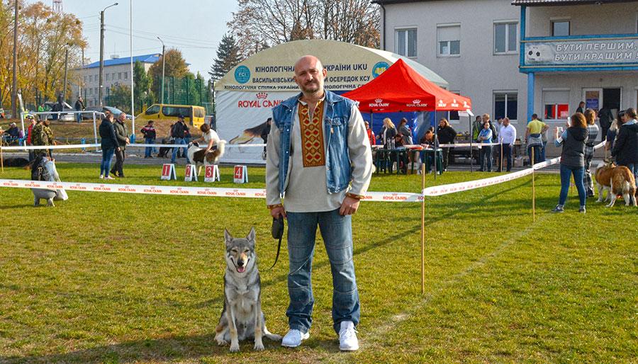 Выставка собак в Василькове