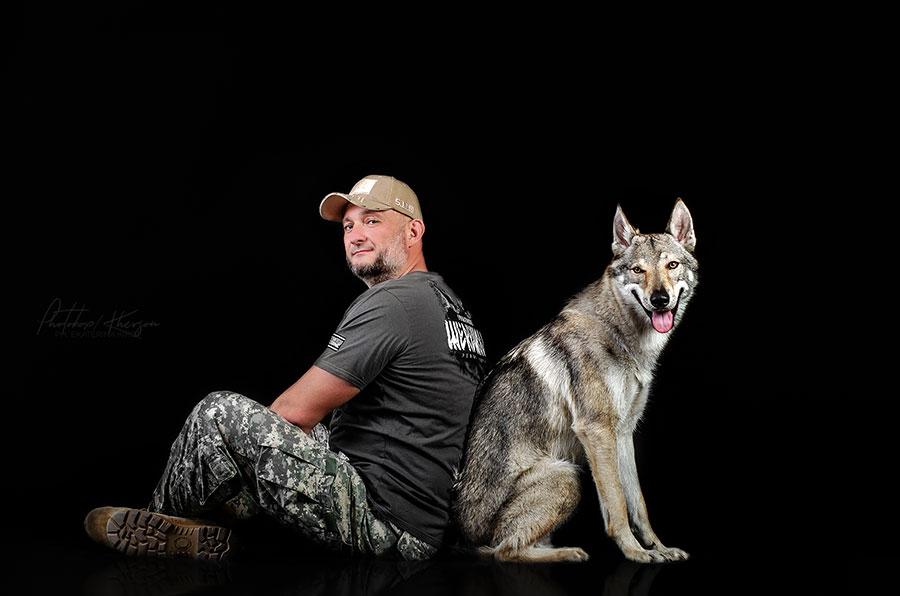 Волк и спецназовец