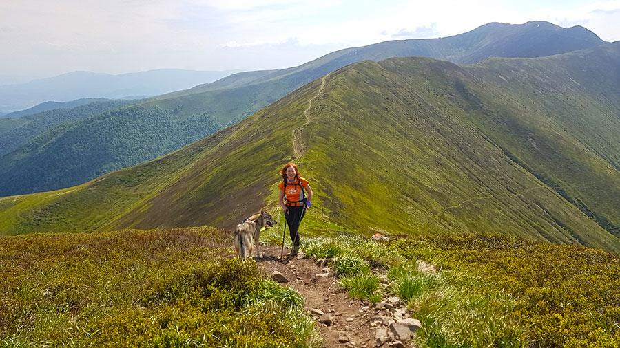 Знакомство с девушкой в горах