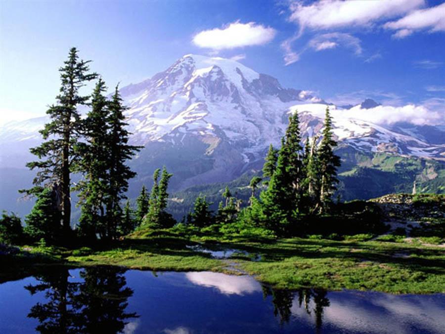 гора Рэйнир 4392 м