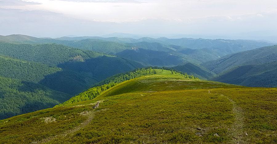 Вид с горы Великий верх