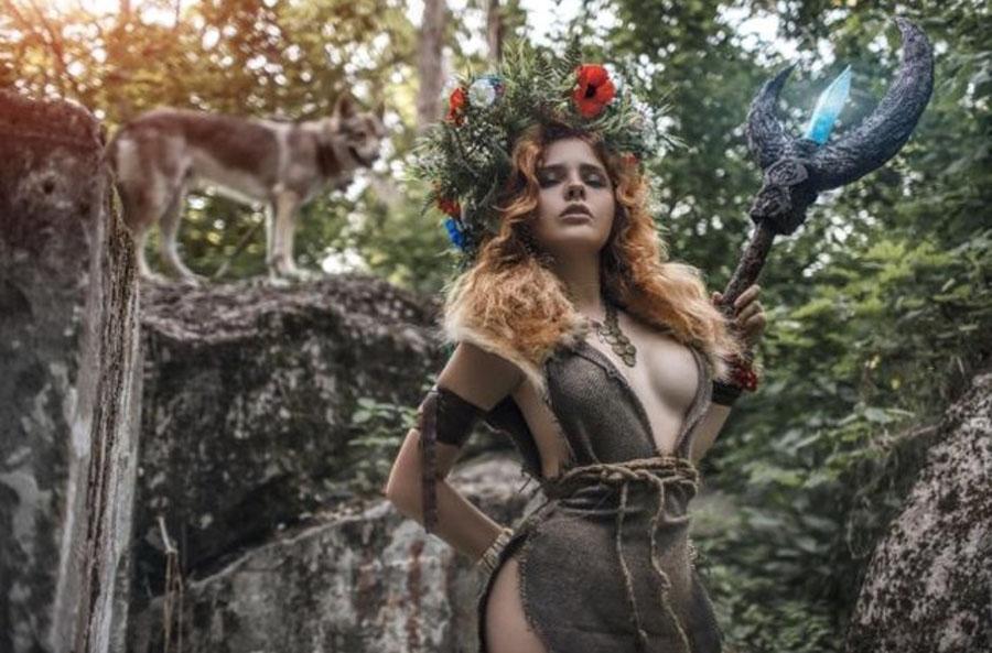Прекрасная фея и волк